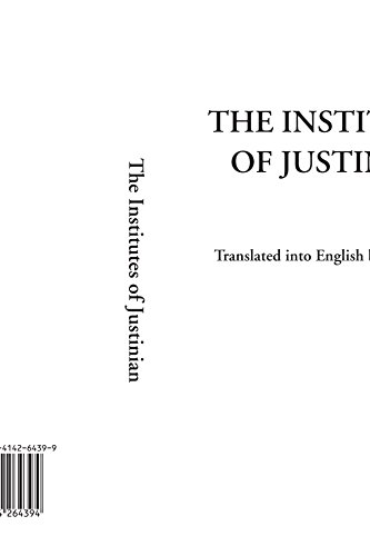 9781414264394: The Institutes of Justinian