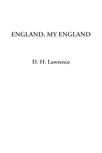 England, My England (1414278055) by D. H. Lawrence