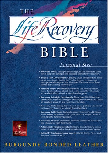 9781414301396: Life Recovery Bible: New Living Translation, Personal Size Edition