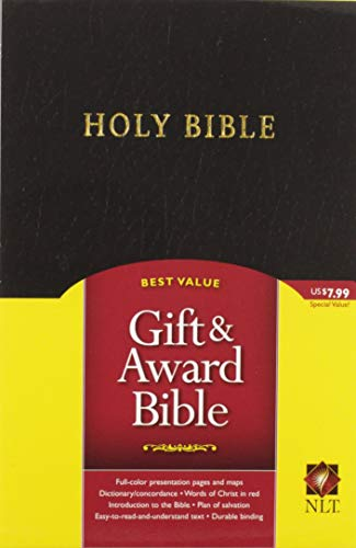 9781414302065: Gift and Award Bible NLT