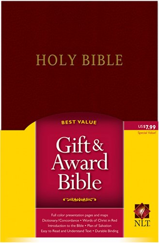 9781414302072: Gift and Award Bible NLT