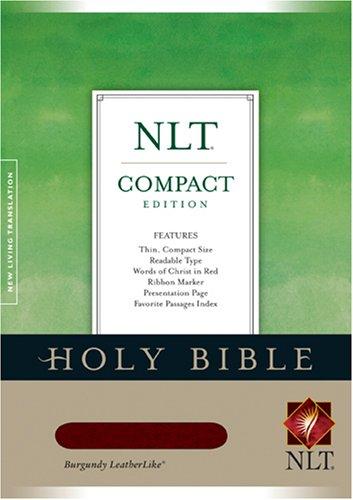 Compact Edition Bible NLT