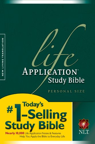 9781414302584: Life Application Study Bible, Personal Size: New Living Translation, Personal Size