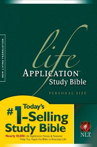 9781414302584: Life Application Study Bible NLT, Personal Size