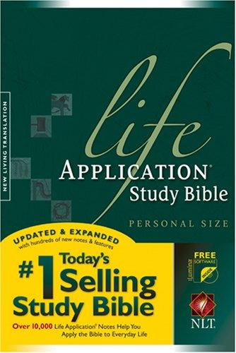 9781414302591: Life Application Study Bible NLT, Personal Size