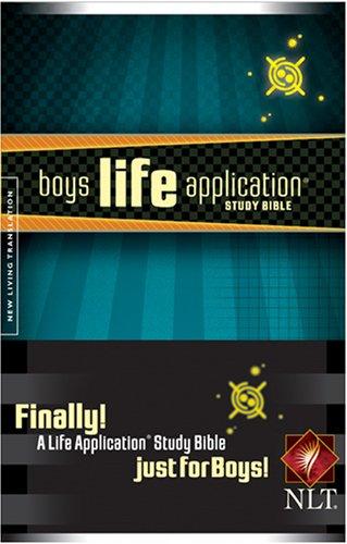 Boys Life Application Study Bible NLT: Tyndale