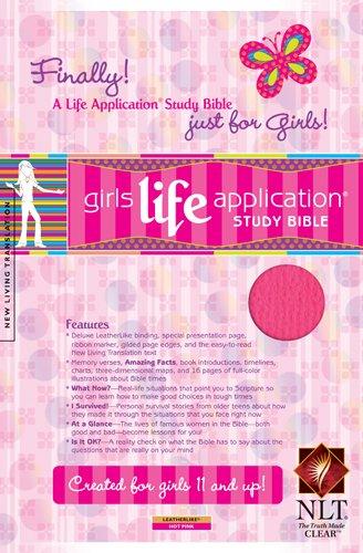 9781414302669: Kid's Life Application Bible for Girls-Nlt