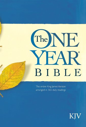 9781414307008: The One Year Bible: King James Version