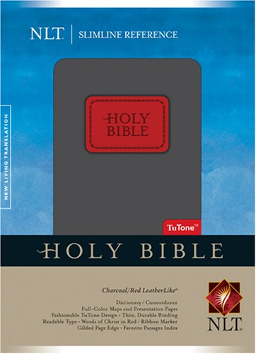 Slimline Reference Bible NLT, TuTone
