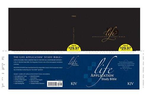 9781414307145: Life Application Study Bible Anniversary Edition KJV