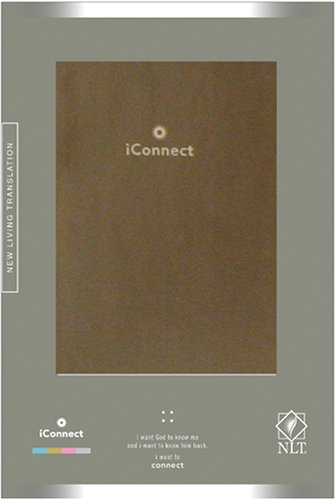 iConnect, Compact Silver LeatherLike (Holy Bible, New Living Translation)