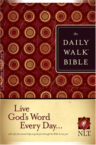 9781414309583: The Daily Walk Bible NLT
