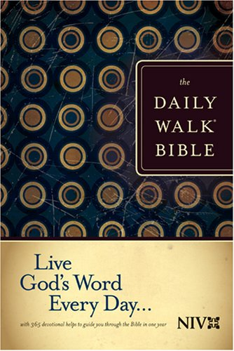 9781414309590: The Daily Walk Bible NIV