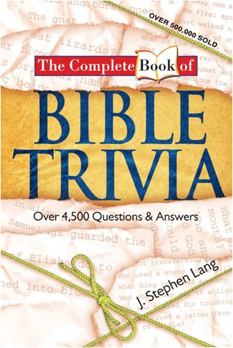 9781414310503: The Complete Book of BIBLE TRIVIA