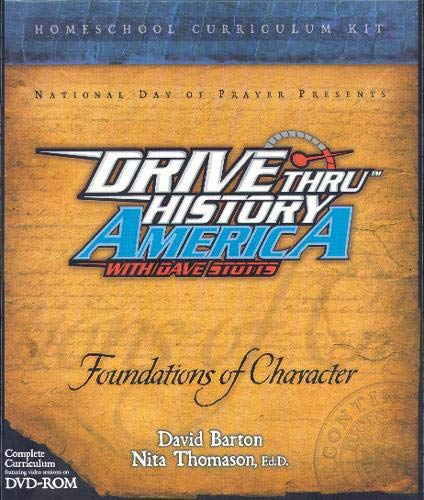 9781414311838: Foundations of Character Homeschool Curriculum Kit (Drive Thru History America)