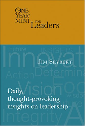 9781414311883: The One Year Mini for Leaders (One Year Minis)