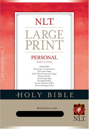 Personal Edition NLT, Large Print