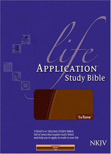 9781414312934: Life Application Study Bible NKJV, TuTone