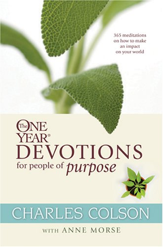 9781414312989: The One Year Devotions for People of Purpose (One Year Book)