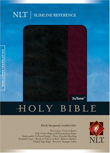 9781414313788: Slimline Reference Bible NLT, TuTone