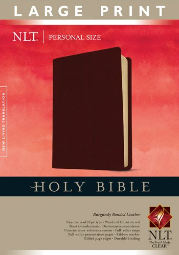 9781414314020: Holy Bible NLT, Personal Size Large Print edition