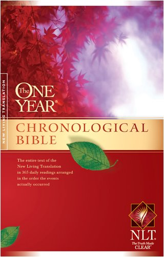 9781414314075: One Year Chronological Bible-NLT (One Year Bible: Nlt)