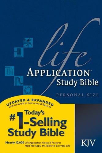 9781414314181: Life Application Study Bible KJV, Personal Size