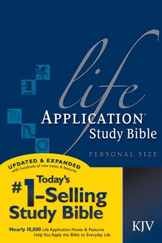 9781414314198: Life Application Study Bible KJV, Personal Size