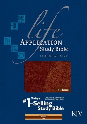 9781414314204: Life Application Study Bible KJV, Personal Size, TuTone