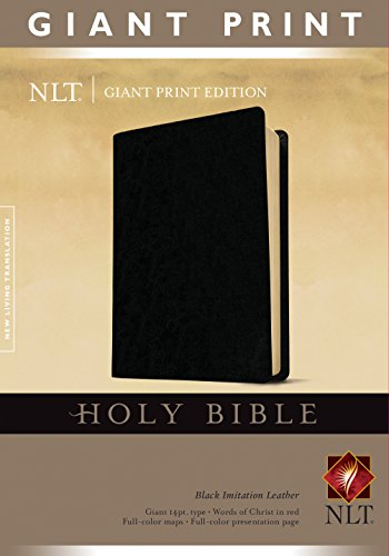 9781414314280: NLT HOLY BIBLE GIANT PRINT IMLTH