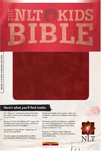 9781414314518: The NLT Kids Bible