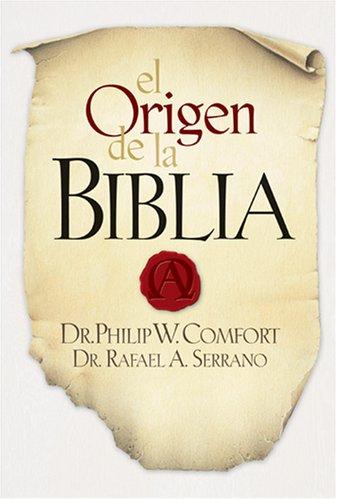 9781414317182: El Origen de la Biblia