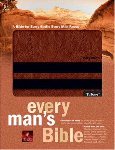 9781414321639: Every Man's Bible NLT