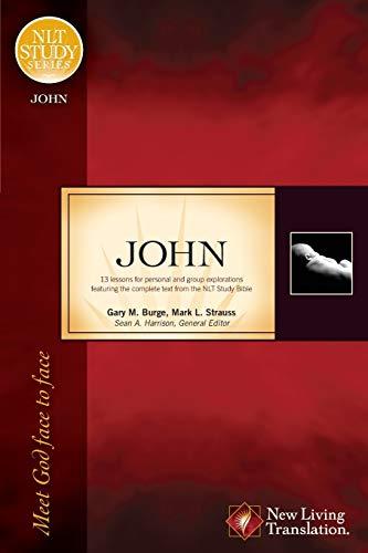 9781414321967: John: Meet God Face to Face (NLT Study)
