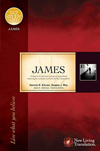 9781414321974: James: Live What You Believe (NLT Study Series)