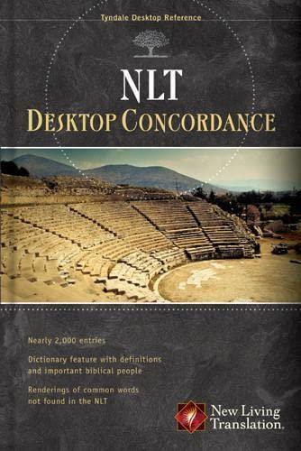 9781414322001: NLT Desktop Concordance (Tyndale Desktop Reference) (Volume 5)