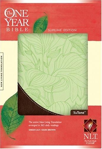 The One Year Bible Slimline Edition NLT, TuTone: Tyndale House Publishers, Inc.