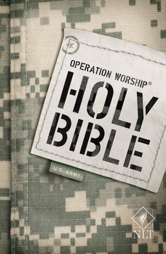 9781414323824: Operation Worship Compact Bible NLT, Army edition