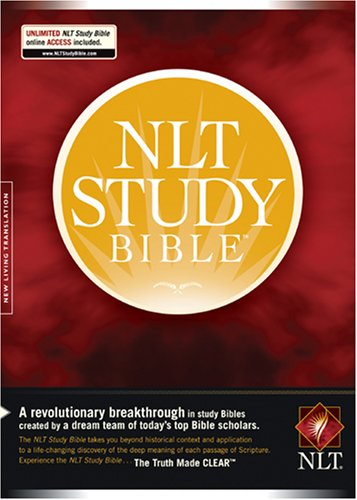 NLT Study Bible, Indexed Edition (1414324472) by Tyndale House Publishers