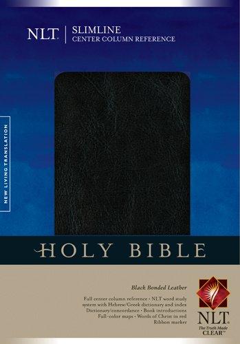 9781414327044: Slimline Center Column Reference Bible NLT (Slimline Reference: Nltse)