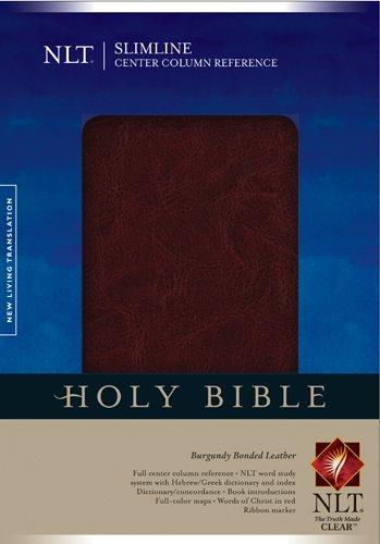 9781414327051: Slimline Center Column Reference Bible NLT (Slimline Reference: Nltse)