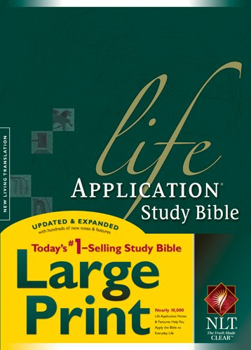 9781414332000: Life Application Study Bible NLT, Large Print (Life Application Study Bible: Nltse)