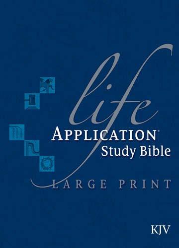 9781414332031: Life Application Study Bible KJV, Large Print