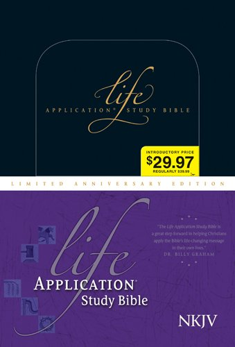 9781414332987: Life Application Study Bible-NKJV-20th Anniversary