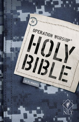 9781414333854: Operation Worship Compact NLT (Navy edition)
