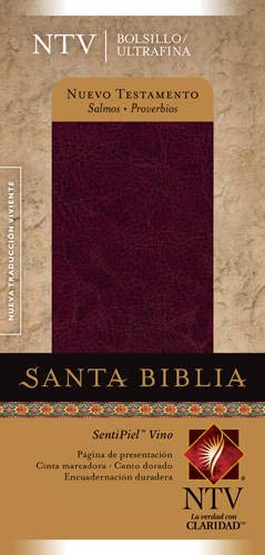 9781414334011: Nuevo Testamento con Salmos y Proverbios NTV, Edición bolsillo ultrafina (Pocket Thinline Bible: Ntv) (Spanish Edition)