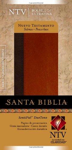 9781414334028: Nuevo Testamento con Salmos y Proverbios NTV, Edición bolsillo ultrafina, DuoTono (Spanish Edition)