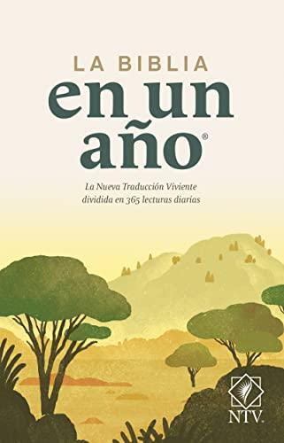9781414334172: La Biblia en un Ano-Ntv
