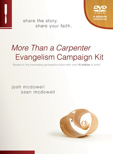 9781414334356: More Than a Carpenter Evangelism Campaign Kit