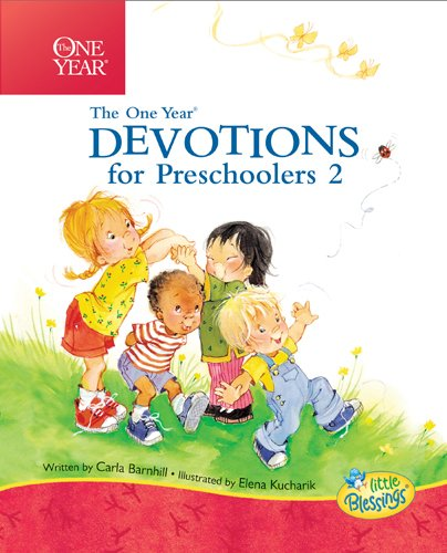 9781414334455: One Year Devotions for Preschoolers 2 (Little Blessings Line)